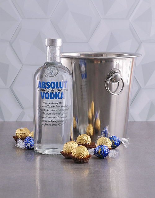 year-end: Absolut Vodka Ice Bucket Gift!
