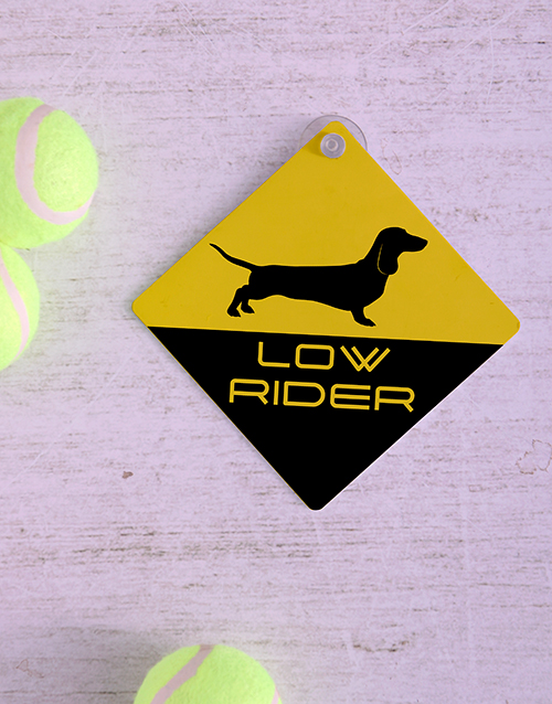 pets: Low Rider Car Sign!