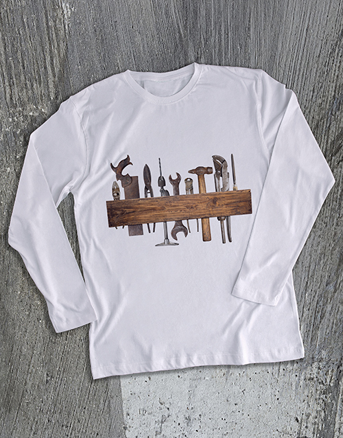 grandparents-day: Vintage Tools Long Sleeve T Shirt!