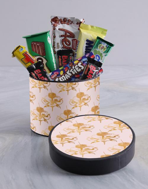 teachers-day: Classic Floral Wrap Choc Hat Box!