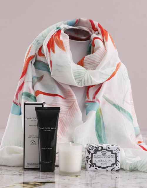 bath-and-body: Paradise Scarf and Charlotte Rhys Gift!