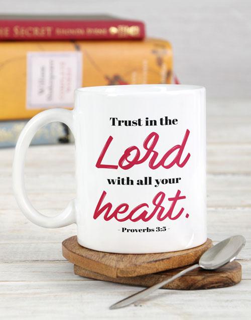faith: Trust in the Lord Mug!