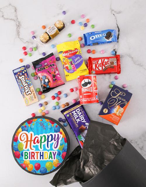 birthday: Happy Birthday Sweet Hat Box!
