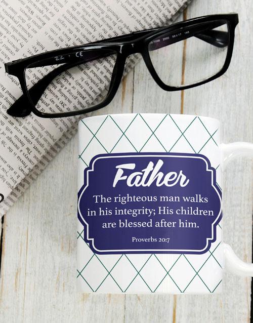 christmas: Blessed Father Mug!