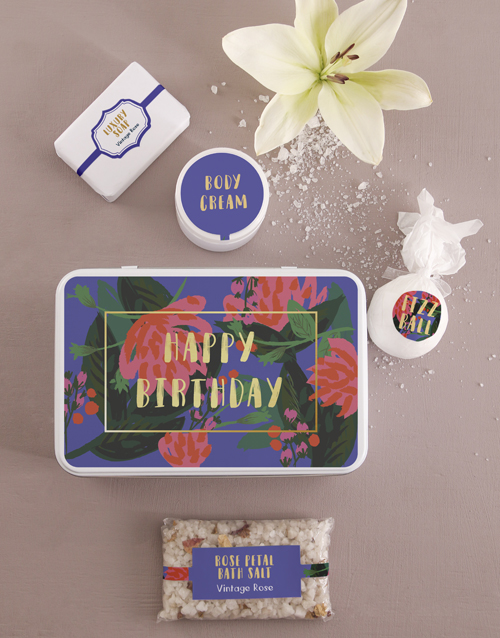 bath-and-body: Birthday Bath and Body Tin!