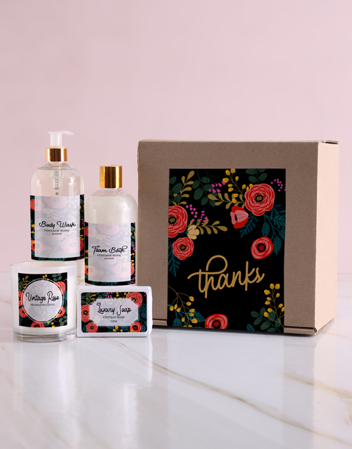thank-you: Thank You Pampering Gift Box!