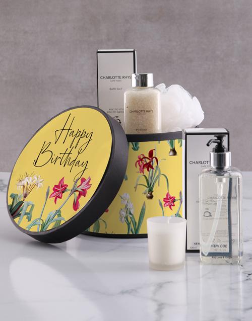 cyber-monday: Charlotte Rhys Happy Birthday Gift Hamper!