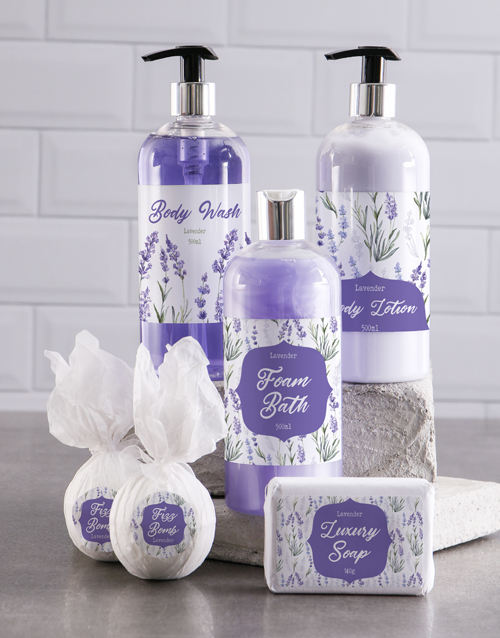 bath-and-body: Bath And Body Lavander Love Gift Hamper!