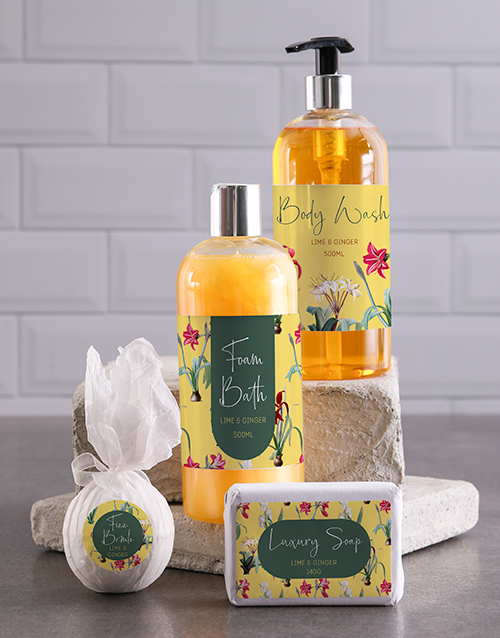 gifts: Bath And Body Vanilla Dream Gift Hamper!