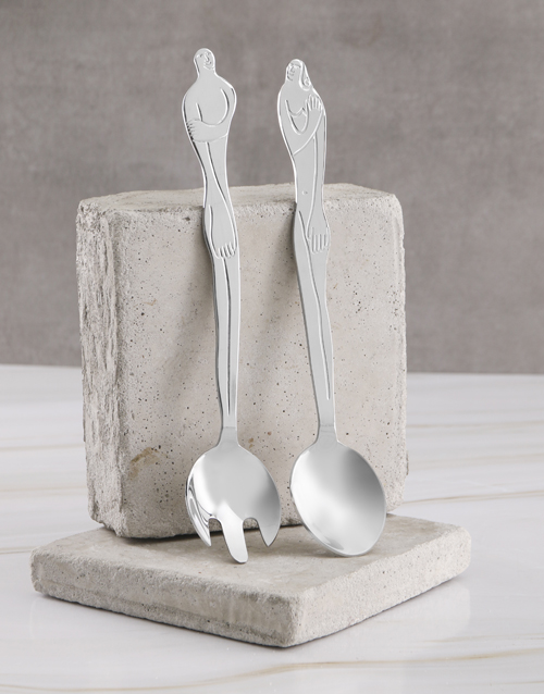 carrol-boyes: Carrol Boyes Woman Salad Servers!