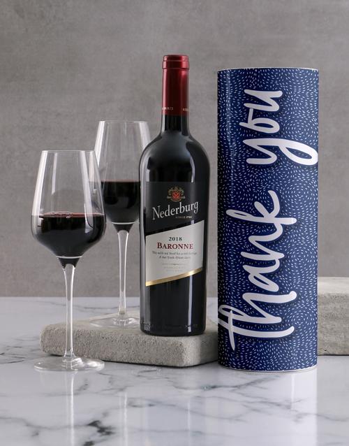 secretarys-day: Thank You Wine Tube!