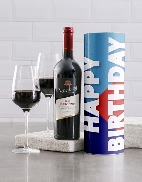 birthday: Birthday Celebration Wine Tube!