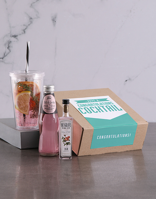 gifts: Congratulations Cocktail Kit!