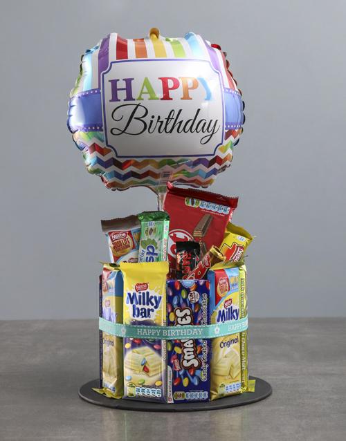 chocolate: Chocolate Birthday Cake Surprise!