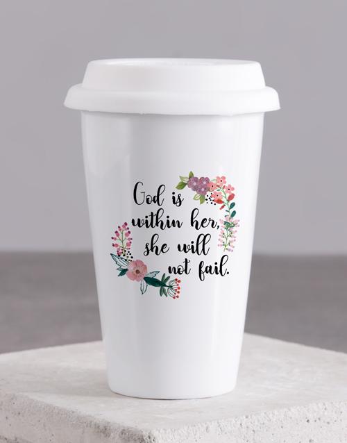 mothers-day: God within Her Travel Mug!