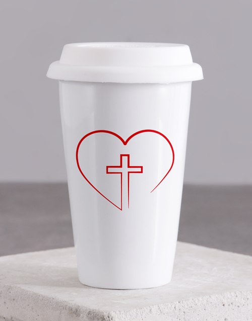 mothers-day: Love Jesus Travel Mug!