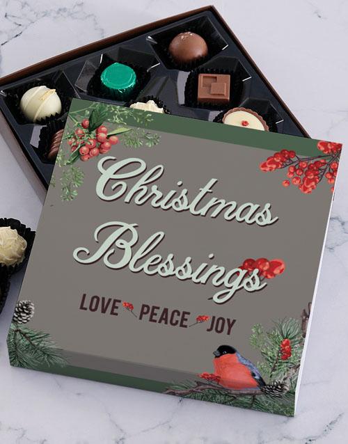 prices: Christmas Robin Chocolate Tray!