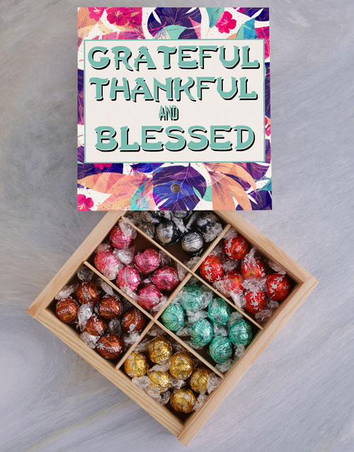 valentines-day: Thankful And Blessed Chocolate Tray!