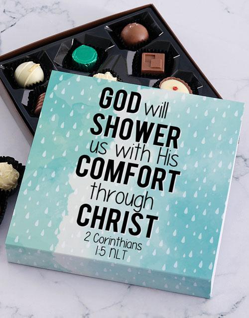 christmas: His Comfort Chocolate Tray!