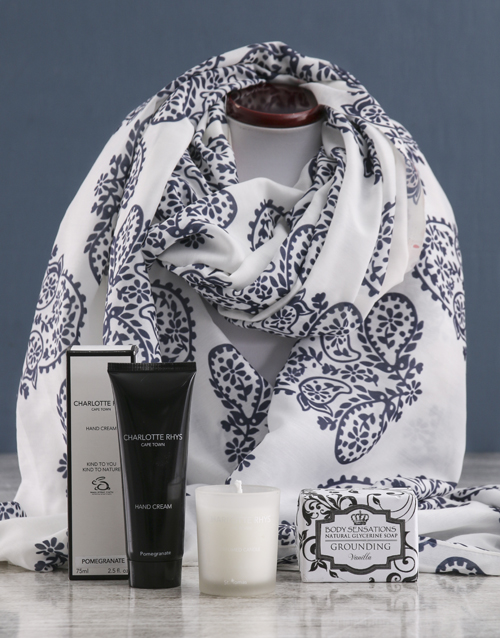 bath-and-body: Paisley Scarf and Charlotte Rhys Gift!