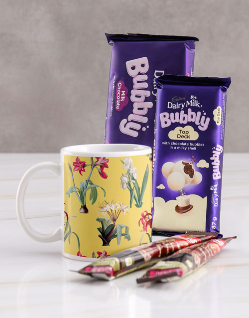 homeware: Freesia Mug Hamper!