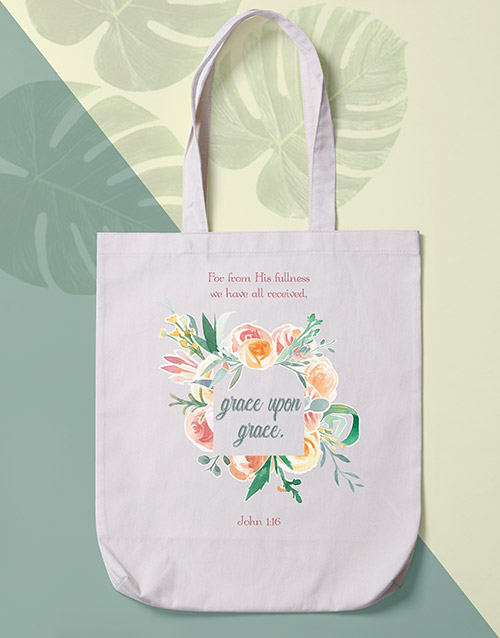 prices: Grace Upon Grace Tote Bag!