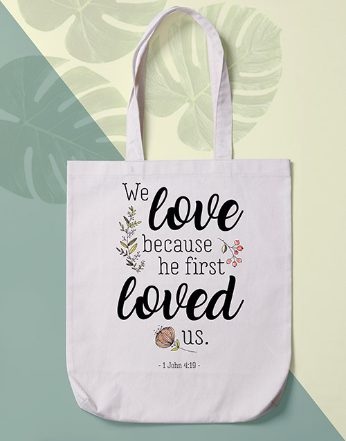 gifts: Loved Us Tote Bag!