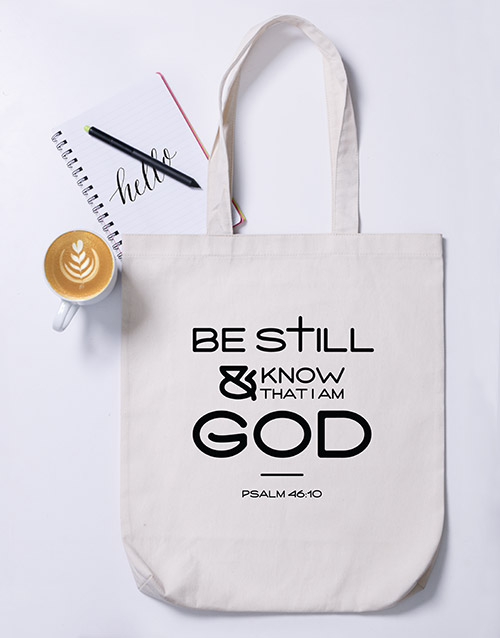 prices: Be Still Tote Bag!
