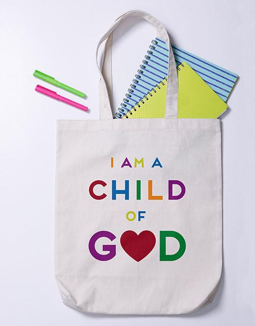 christmas: Child of God Tote Bag!