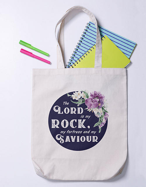 prices: Lord is my Rock Tote Bag!