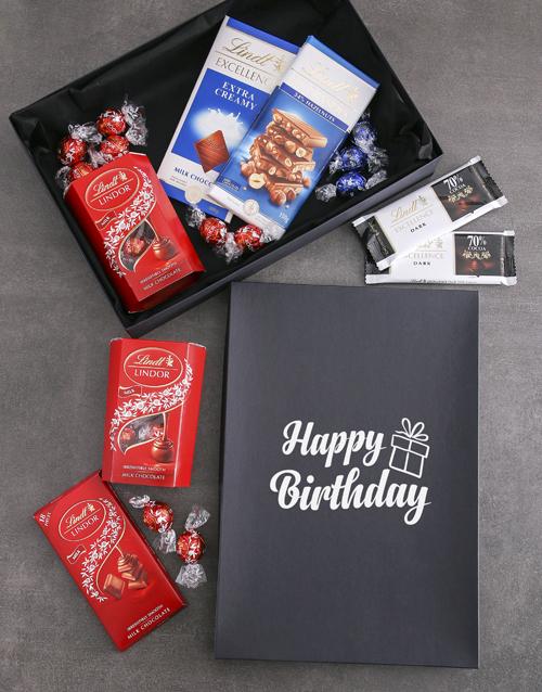 birthday: Birthday Lindt Chocolate Box!