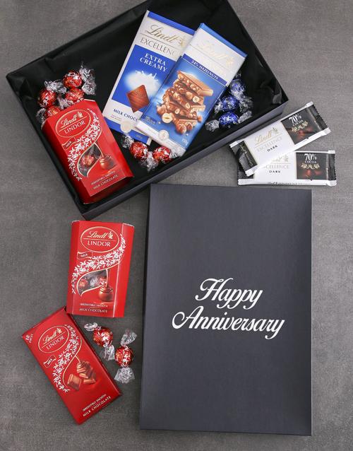 chocolate: Anniversary Lindt Chocolate Box!