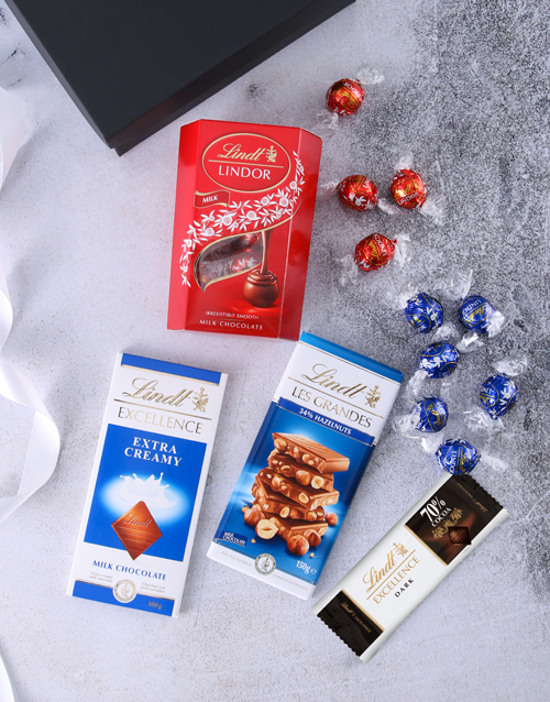 chocolate: Lots Of Lindt Chocolate Box!