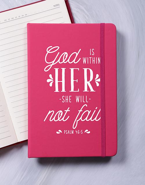 faith: She Will Not Fail Journal!