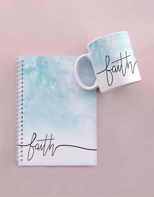 mothers-day: Live By Faith Notebook Set!