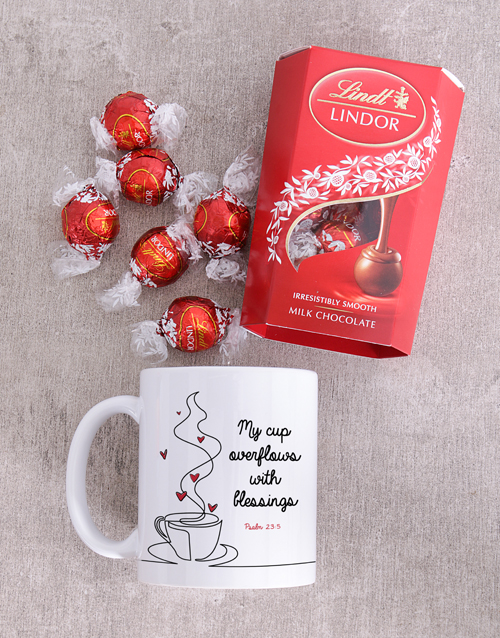 mothers-day: Blessings Lindt And Mug Set!