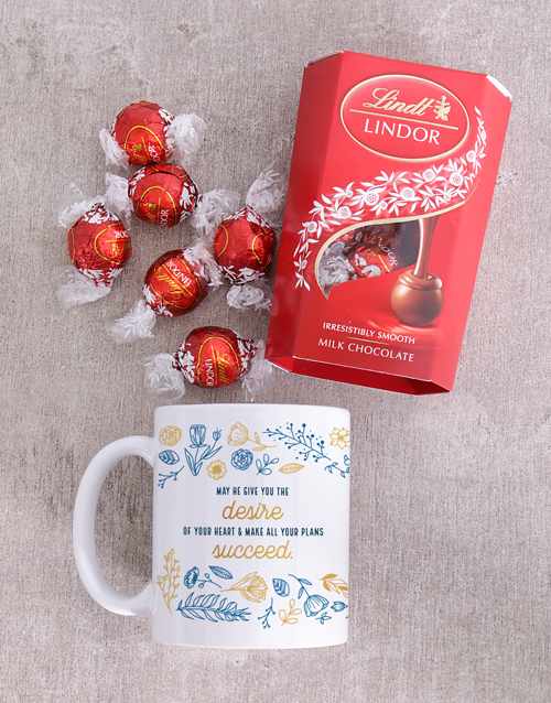 faith: Heart And Desire Lindt And Mug Combo!