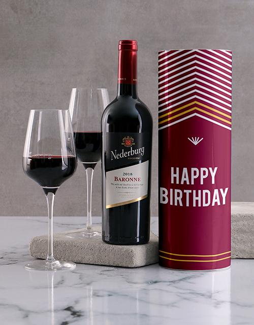birthday: Happy Birthday Wine Tube!