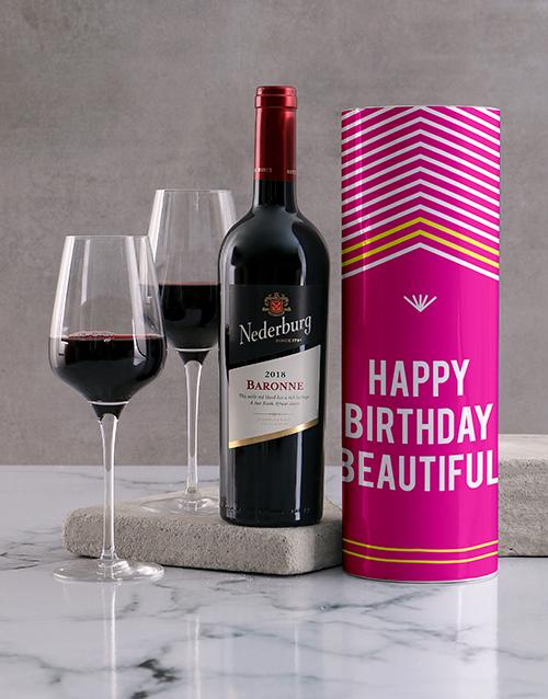 birthday: Beautiful Birthday Wine Tube!