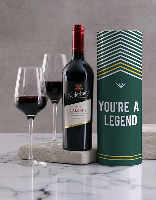 fine-alcohol: Legend Wine Tube!