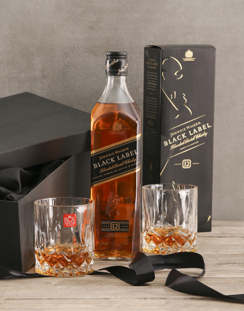 birthday: Johnnie Walker Black Gift Set!