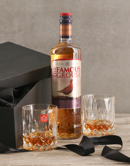 birthday: The Famous Grouse Gift Set!