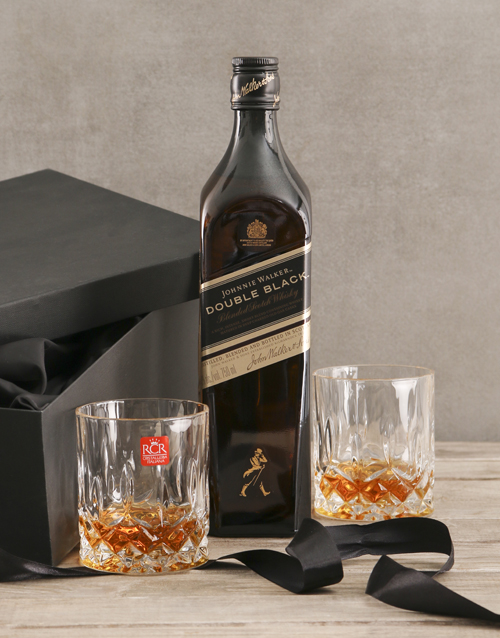 birthday: Johnnie Walker Double Black Gift Set!