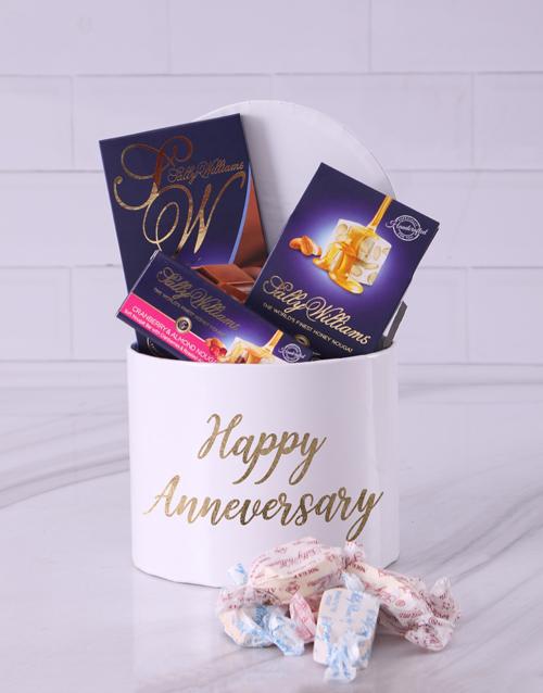 chocolate: Anniversary Sally Williams Hat Box Treat!
