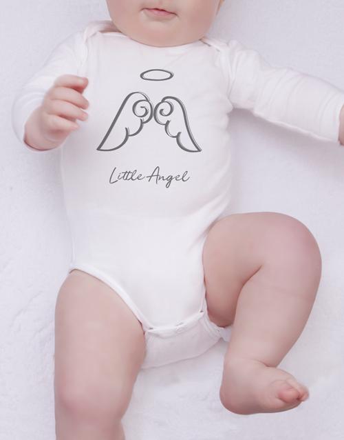 baby: Angel Illustration Onesie!