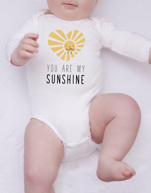 baby: Sunshine Of My Heart Onesie!