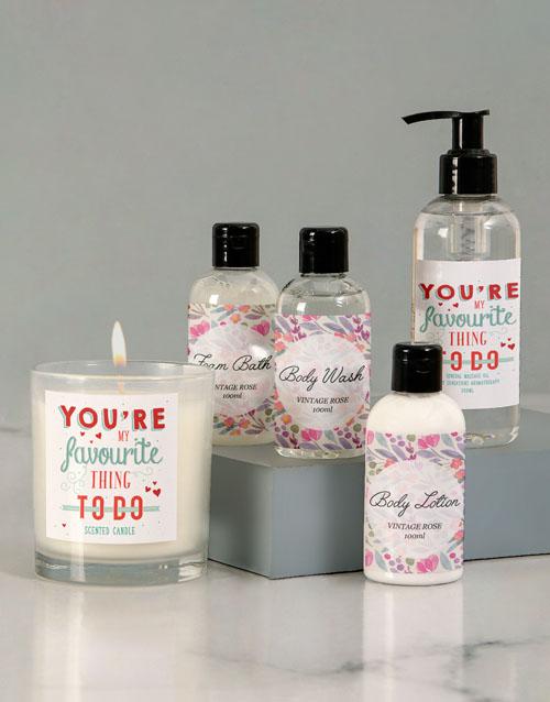 valentines-day: Still My Favourite Massage Oil Set!