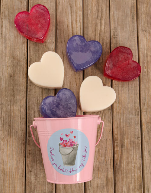 bath-and-body: Buckets of Love Soap Hamper!