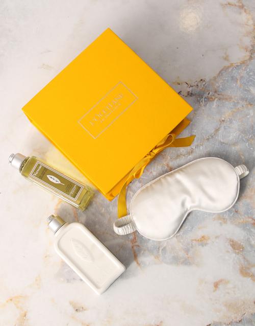 cyber-monday: LOccitane Verbena Shower Gel and Eye Mask Hamper!