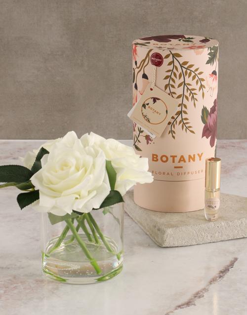 grandparents-day: Botany Large Cream Silk Rose Diffuser!